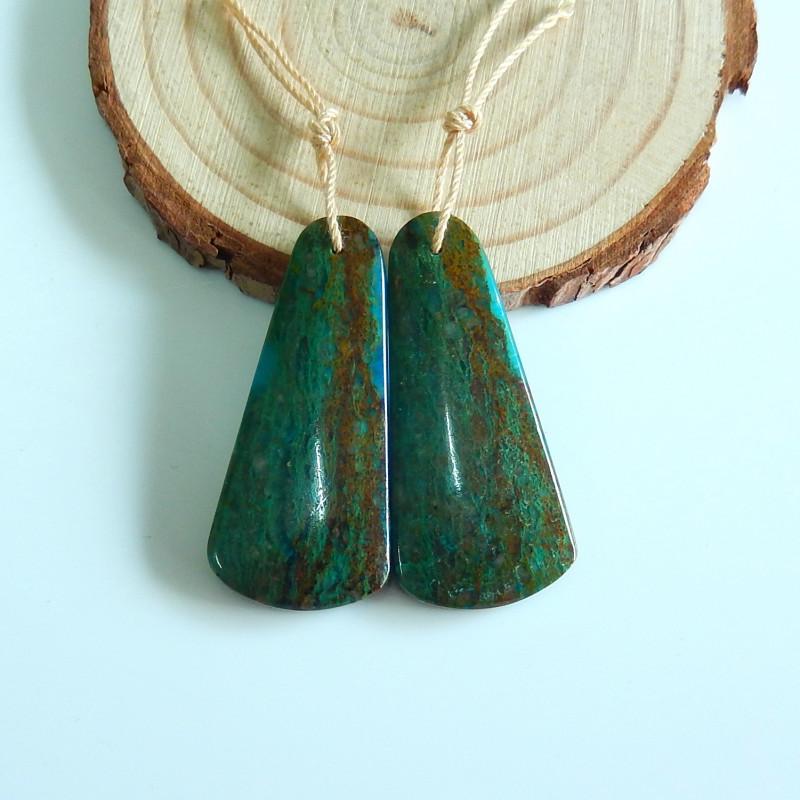 Green Opal Earrings | Teardrop Earrings | Gift | Healing Stone A1000