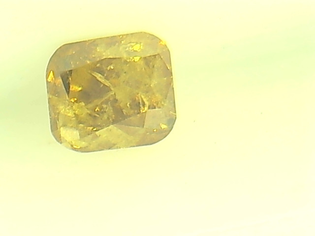 0.28ct Fancy Brown Orange Yellow  Diamond , 100% Natural Untreated