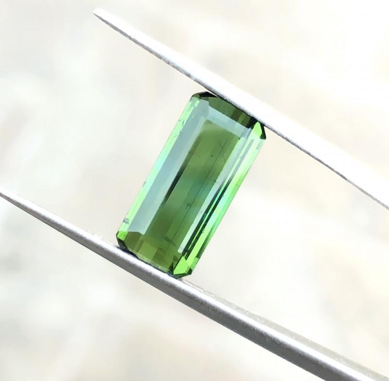 2.70 Ct Natural Greenish Transparent Tourmaline Gemstones