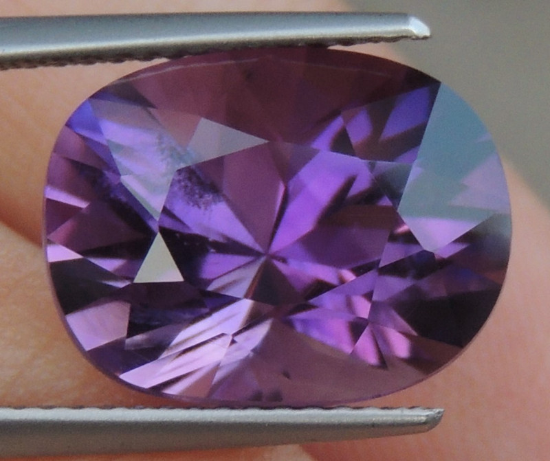 7.14cts, Amethyst,  Top Cut, Clean, Untreated,