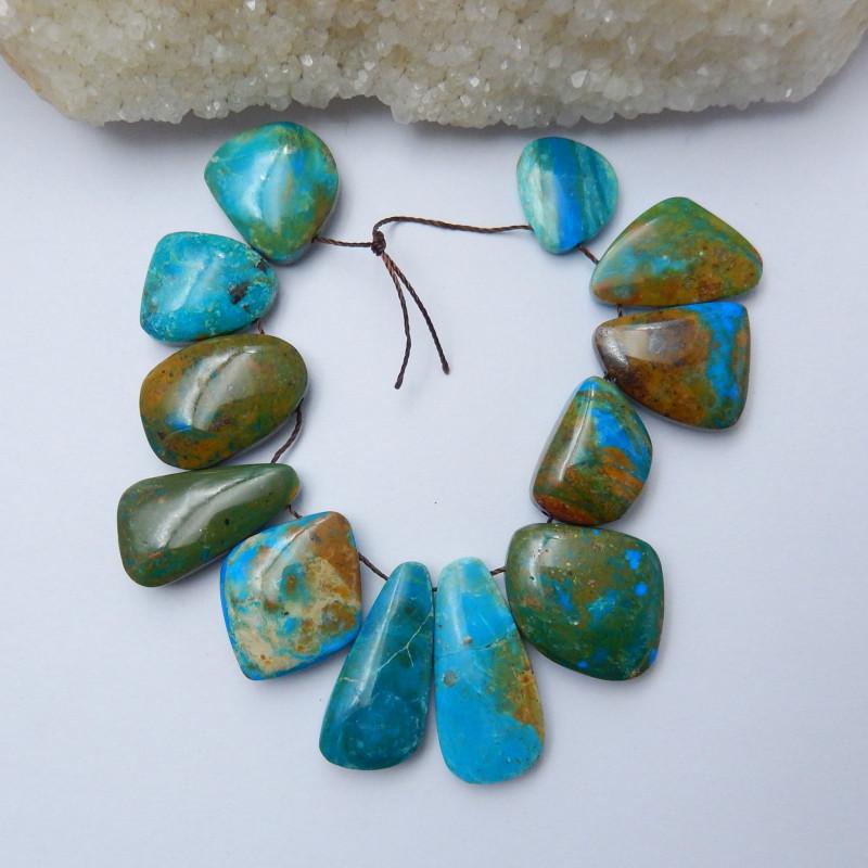 High Quality Blue Opal Gemstone Cabochons Designer Making E369