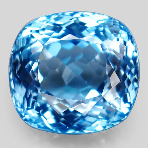 26.16 ct Natural Swiss Blue Topaz – IGE Certificate