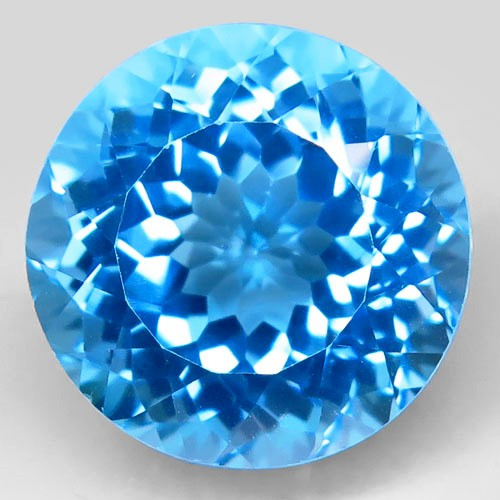 27.61  ct Natural Swiss Blue Topaz – IGE Certificate
