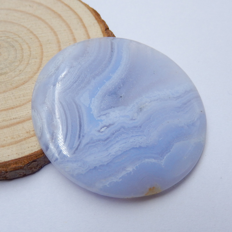 210307-EE Blue Lace Agate Large Cabochon Lot No