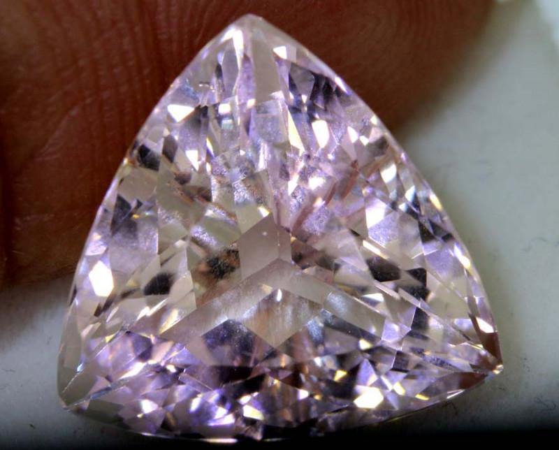 8.69 cts  CERTIFICATE ORNAGY PINK Morganite TBM-1631