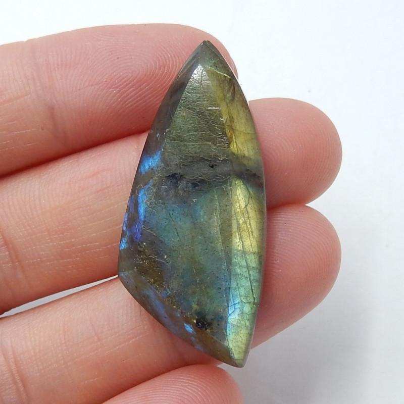 34cts Labradorite cabochon, semi-precious stones, jewelry B370
