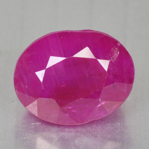 3.37 CTS NATURAL FANCY DEEP PINKISH RED RUBY LOOSE GEMSTONE