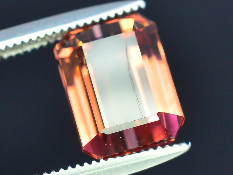 AAA Grade 3.70 ct Amazing Yellowish Pink Tourmaline