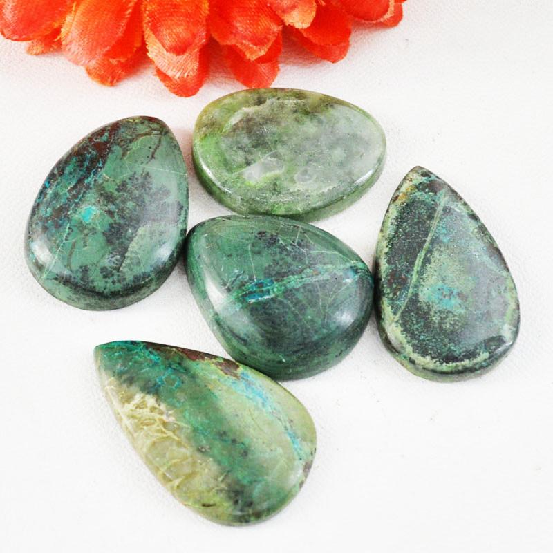 Genuine 160.00 Cts Azurite Gemstone Lot