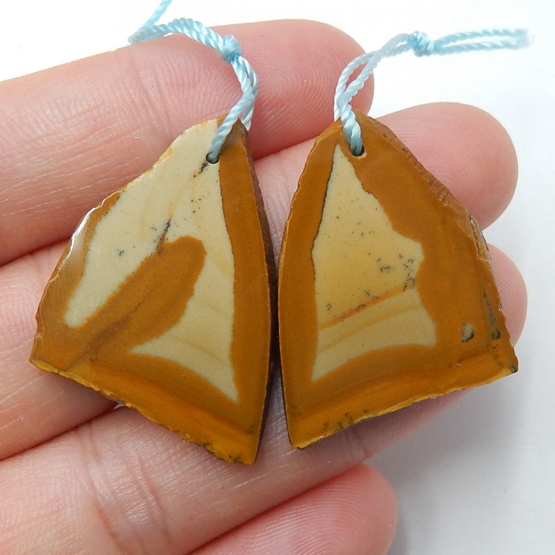 US Biggs Picture Jasper Earrings ,Raaw Gemstone,Wholesale  B440