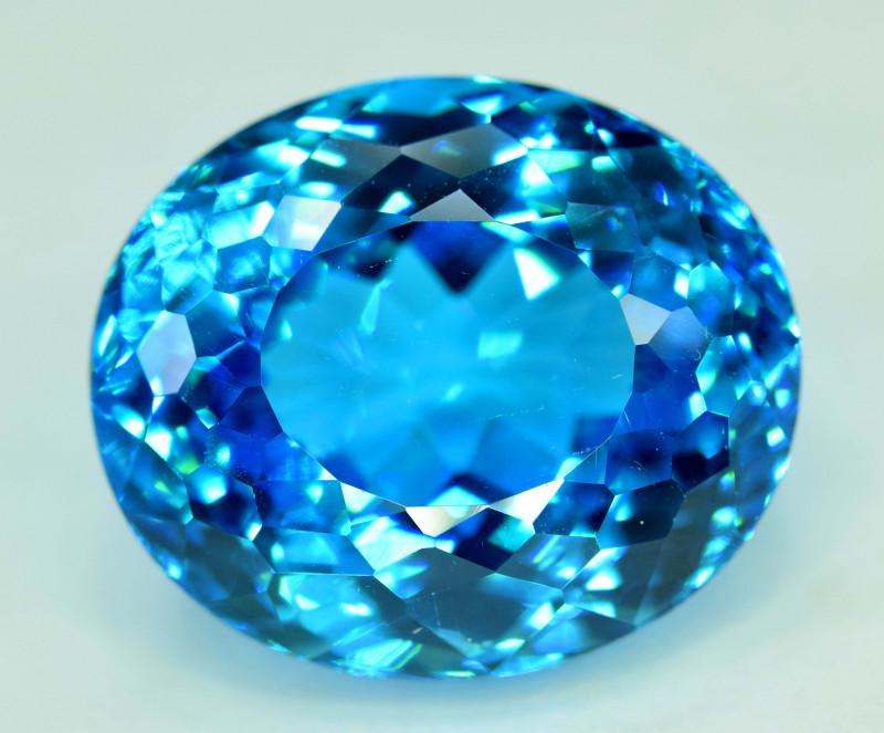 S#31-26 , 45 cts Electric Blue Topaz Gemstone