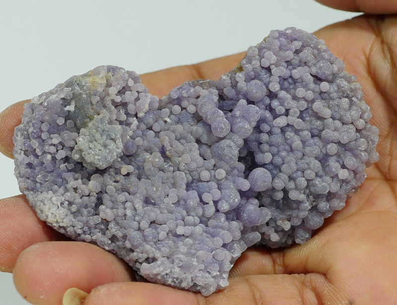 73 GRAM NATURAL INDONESIAN GRAPE CHALCEDONY SPECIMEN -E46-