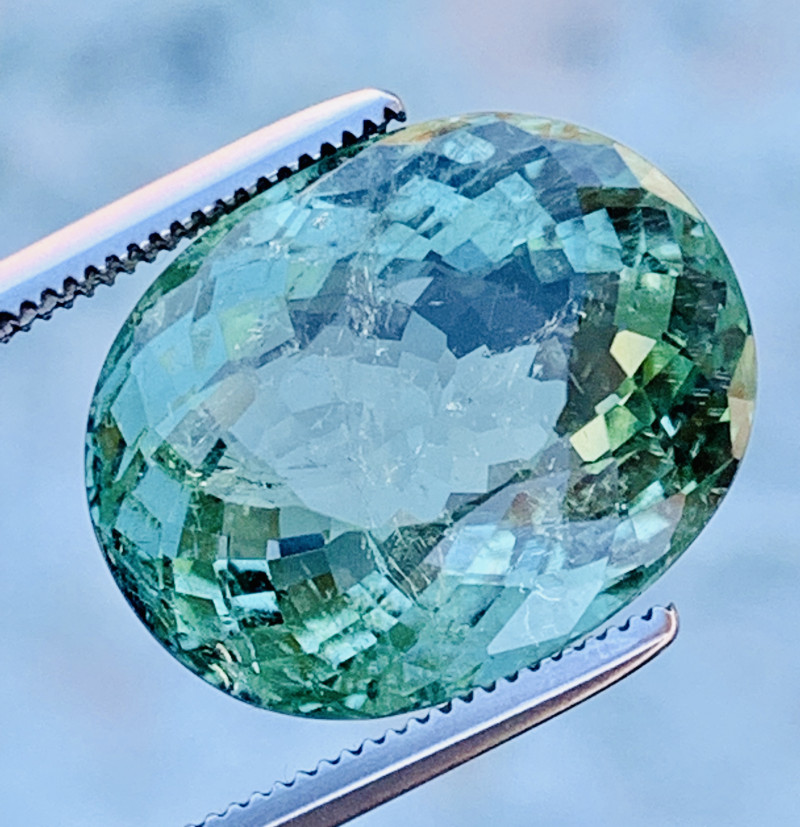AIG Certified 11.23 Ct Top Quality Natural Paraiba Tourmaline