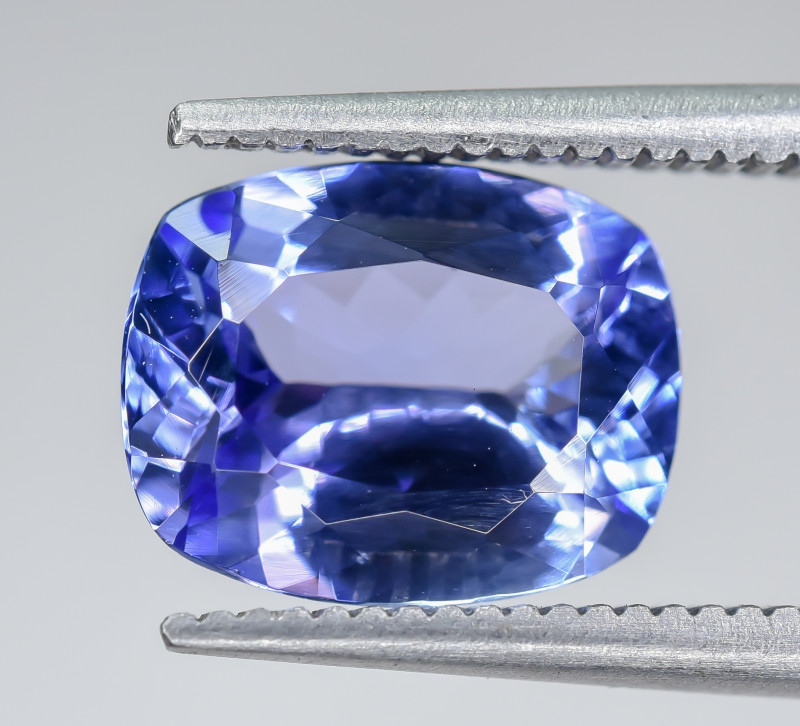 2.48 Crt Natural Tanzanite Faceted Gemstone