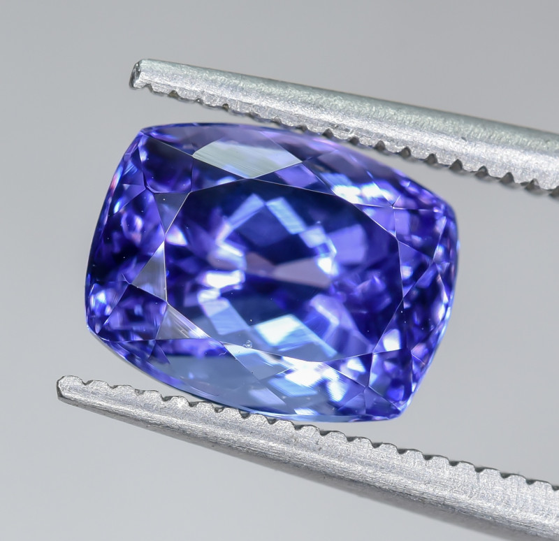 3.08 Crt Natural Tanzanite Faceted Gemstone