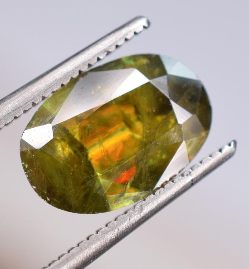 2.15 Carats Top Fire  Natural Sphene Gemstones