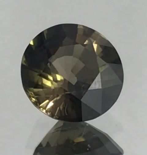 Pretty Yellowish Green Round Tourmaline - Africa - G307