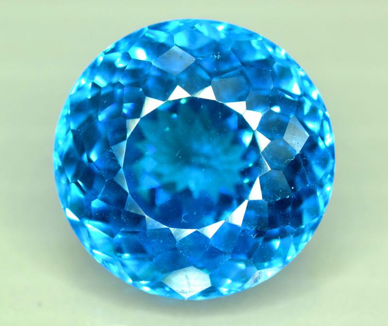 S#31-21 , 30.95 cts Electric Blue Topaz Gemstone