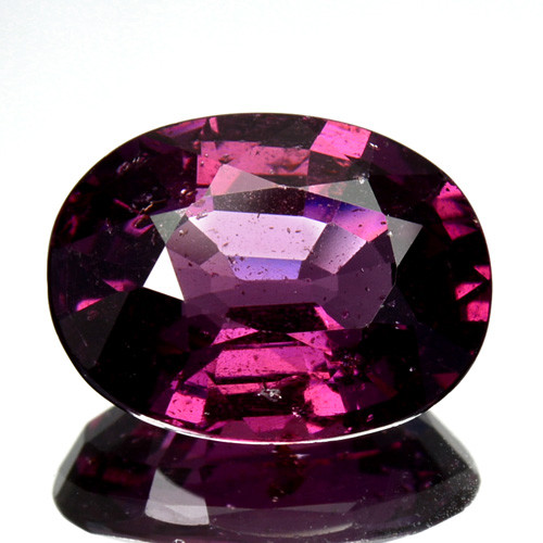 2.83 Cts Natural Purple Pink Garnet Oval Cut Mozambique
