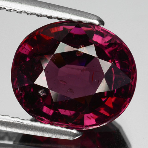 4.62 Cts Natural Purple Pink Garnet Oval Cut Mozambique