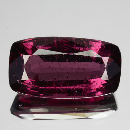 5.80 Cts Natural Purple Pink Garnet Cushion Cut Mozambique