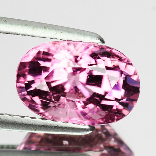 2.70 Cts Natural Pink Tourmaline Oval Cut Mozambique