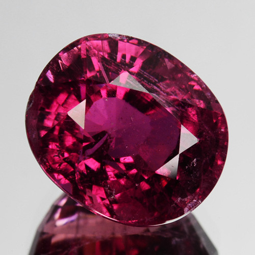 3.47 Cts Natural Sweet Pink Tourmaline Oval Cut Mozambique