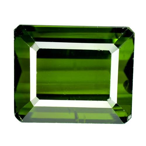 7.85 Cts Natural Neon Green Tourmaline Octagon Cut Mozambique