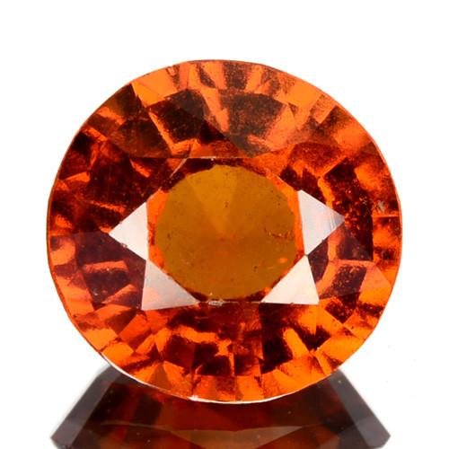3.20 Cts Natural Hessonite Garnet Cinnamon Orange Round mix Cut Sri Lanka