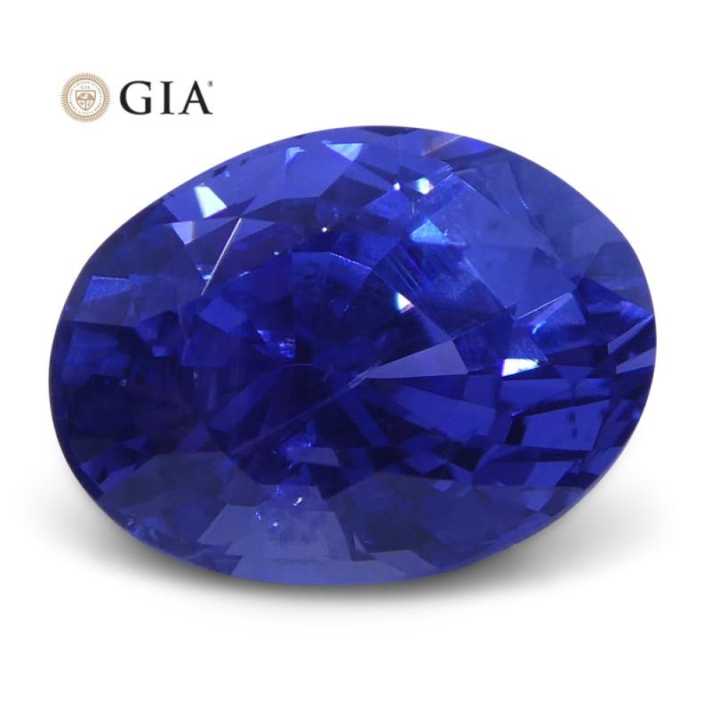 1.69 ct Color Change Sapphire Oval GIA Certified Unheated, Sri Lanka