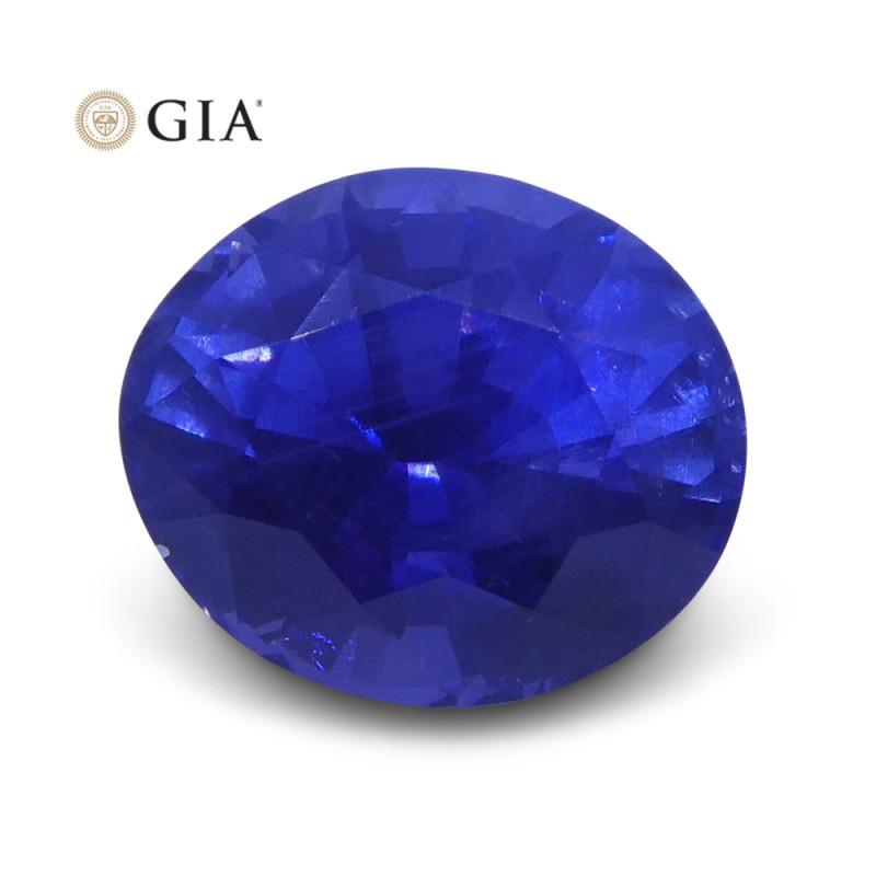 1.22 ct Color Change Sapphire Oval GIA Certified Unheated, Sri Lanka