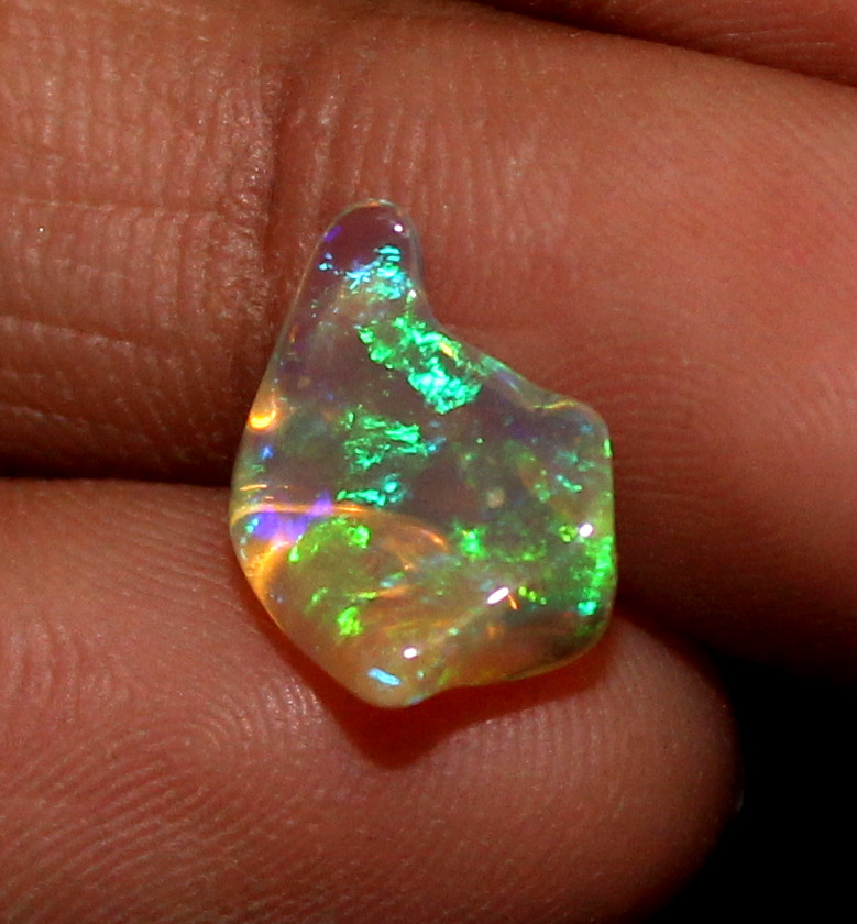 1.40 ct Natural Ethiopian Welo Fire Freeform Welo Opal Carvin 198
