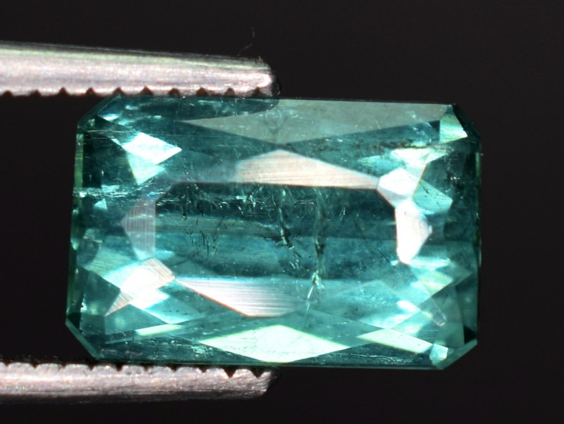 2.45 carats Natural blue color Tourmaline gemstone