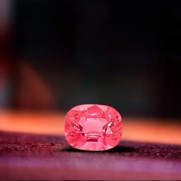 1.89 ct Pink/Peach Spinel - Winza Origin!