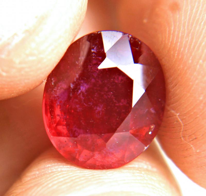8.79 Carat Fiery Ruby - Gorgeous