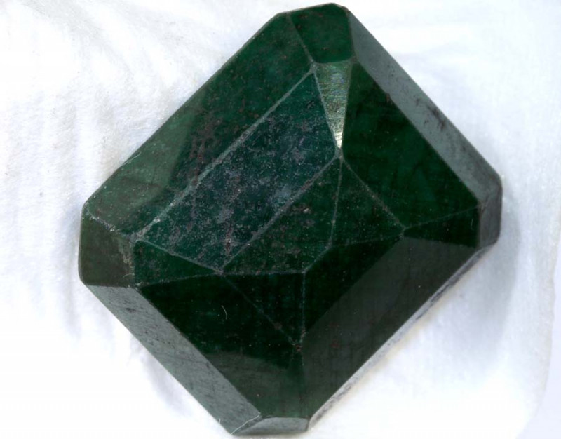 47.88 CTS  CERTIFIED GREEN SAPPHIRE PG-2574