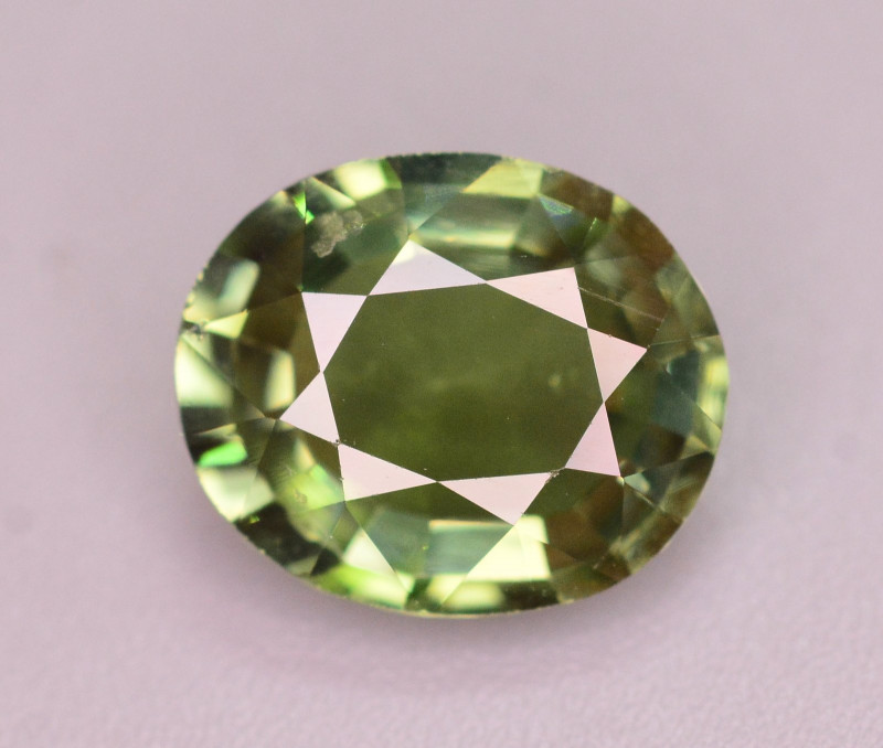 Top Quality 2.65 Ct Natural Yellowish Green Tourmaline