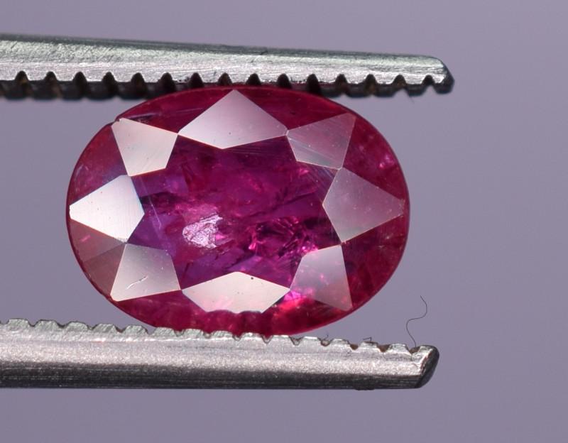 0.65 Carats Natural Ruby Gemstone