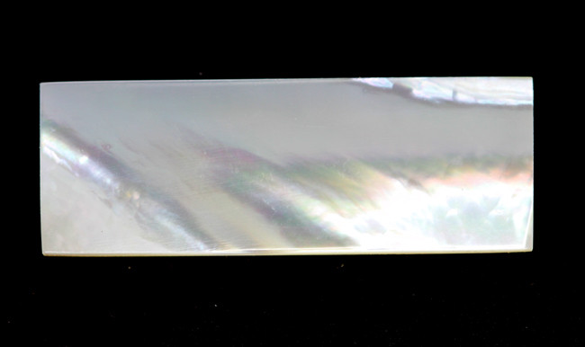 4.28cts Natural Mother of Pearl Rectangle Disc