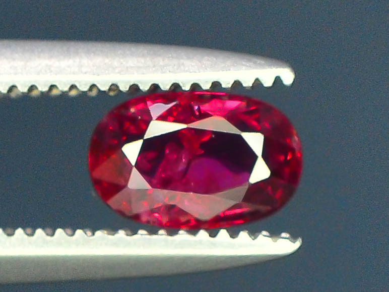 0.45 cts Natural Red Color Ruby - Mozambique