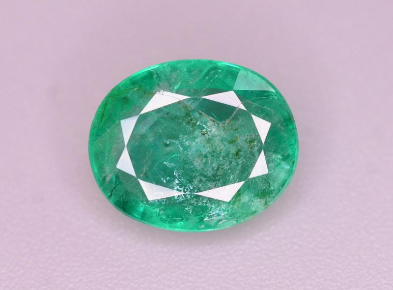 Amazing Color 2 ct Natural Zambian Emerald
