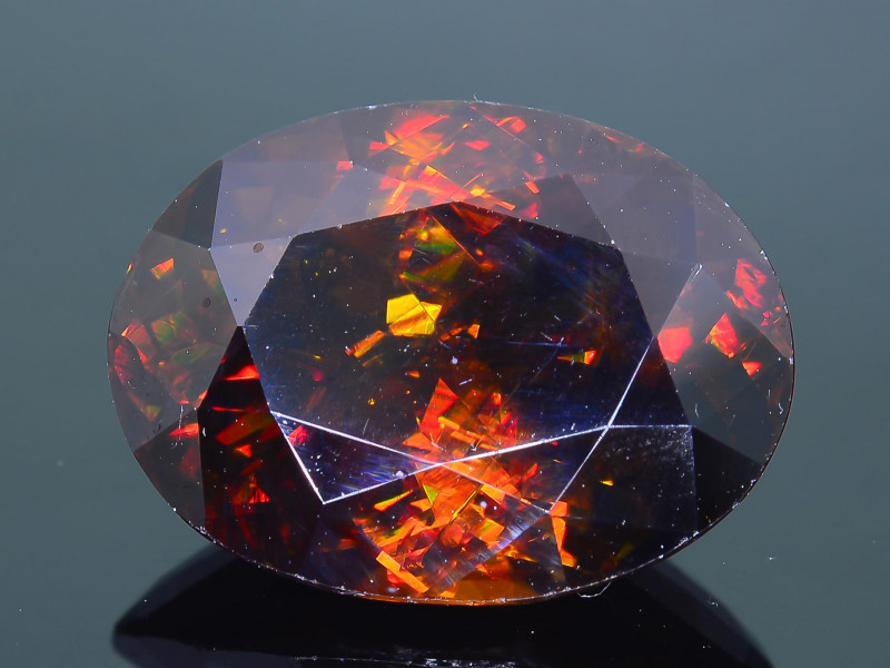 Imperial Sphene 10.27 ct AAA Brilliance Mozambique Sku-30