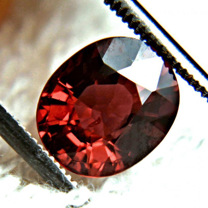 2.88 Ct. African Fiery Red VS Rhodolite Garnet - Gorgeous