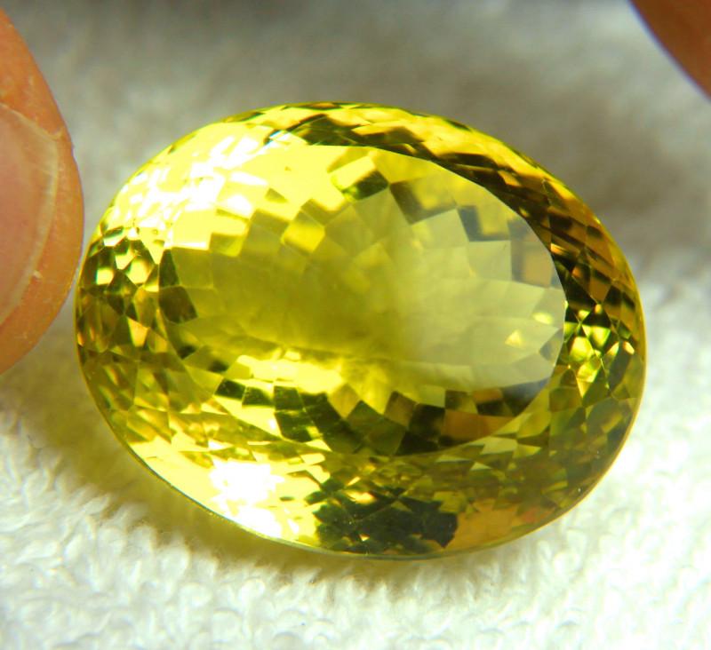 57.12 Ct. African VVS Lemon Quartz - Gorgeous