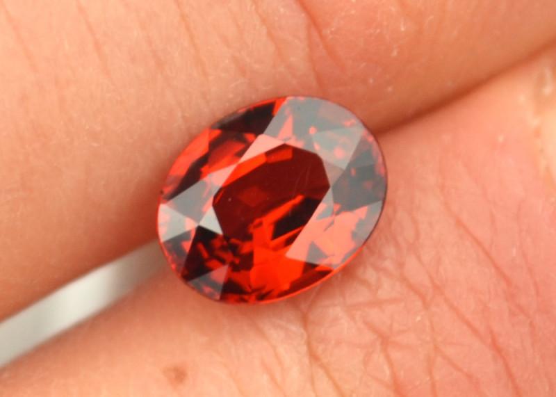 2.42 Carat Very Fine Oval Cut Spessartite Garnet