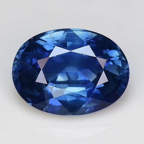 1.70 Cts Magnificent Top Color Sparkling Intense Blue Sapphire SH5