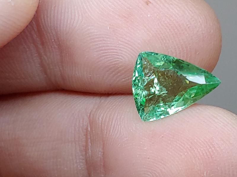 Unheated 2.76 CT Green Tourmaline (Kunar, Afghanistan)