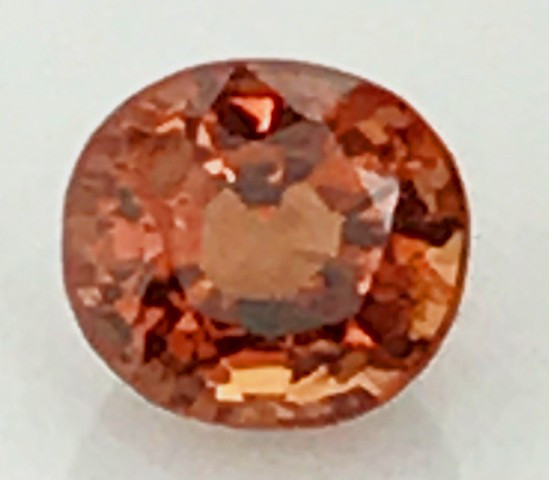 Lovely Glittering Bright Reddish Orange Spinel - Burma G418
