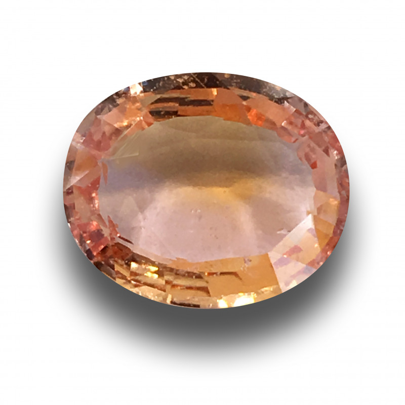 GRS | Natural Padparadscha|Loose Gemstone| Sri Lanka - New