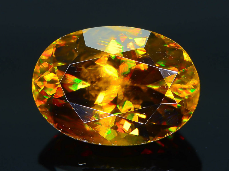 Imperial Sphene 1.80 ct AAA Brilliance Mozambique Sku-30